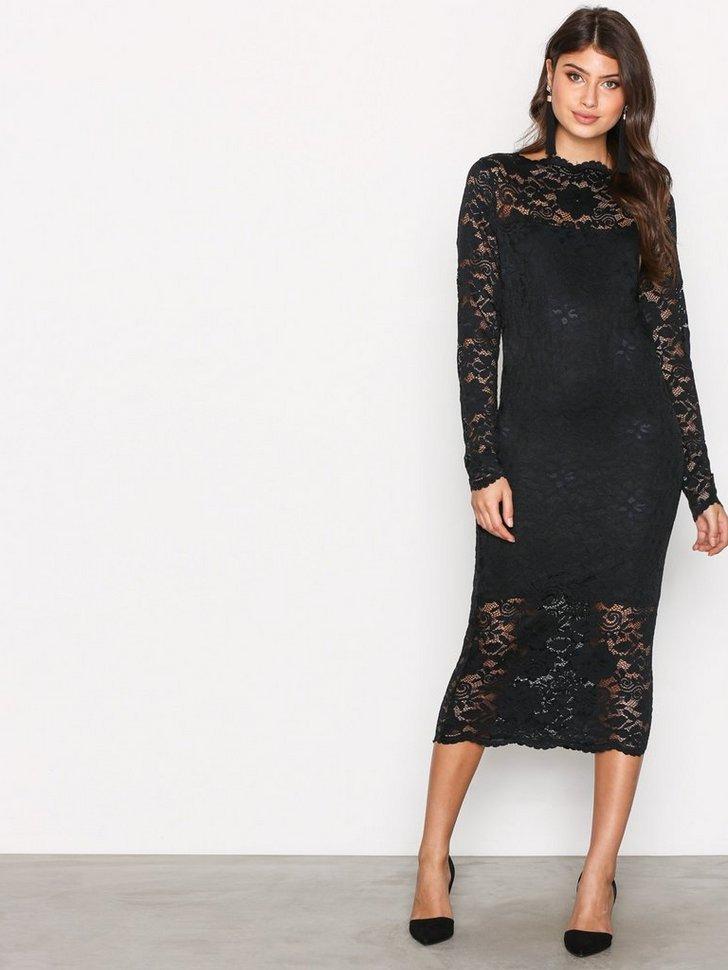 Festkjole VIGRIT L S DRESS 1 festtøj