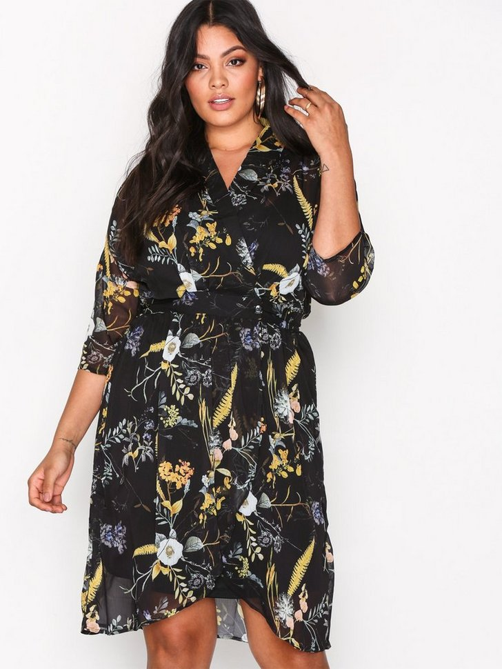 Nelly.com SE - onlKATRINE WRAP DRESS L/S WVN 494.00 (499.00)