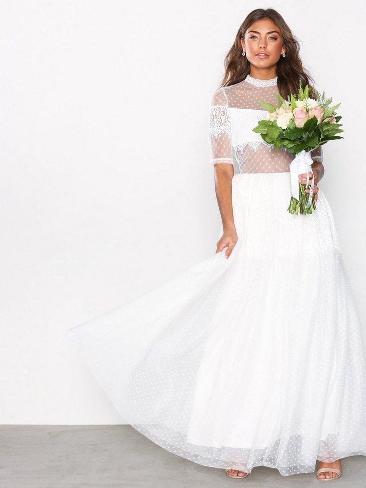 Festkjoler VMLOVE S S FULL DRESS BR KA - festtøj mode