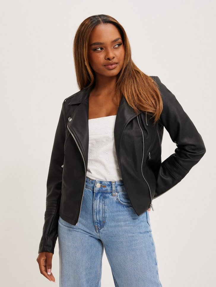 Nelly.com SE - onlGEMMA FAUX LEATHER BIKER OTW NOO 479.00
