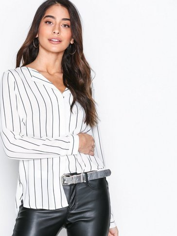 Selected Femme - SLFDYNELLA STRIPE LS SHIRT NOOS