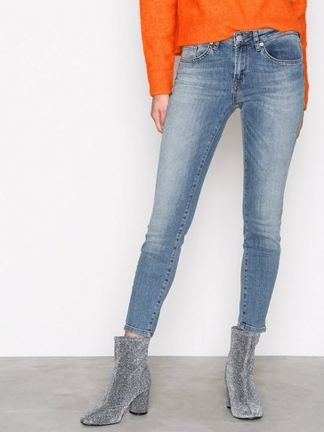 Selected Femme - SFIDA MW CROPPED JEANS BLUE WATER N