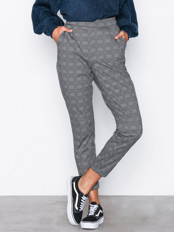 JDYDELICIOUS CHECK PANT JRS