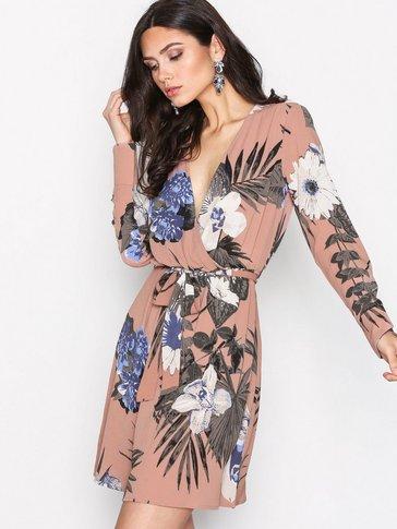 YAS - YASYRSA LS WRAP DRESS