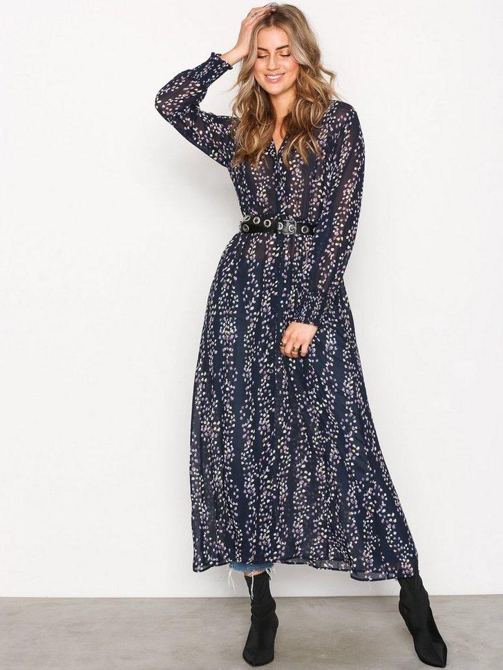 onlDITTE L/S CALF DRESS WVN