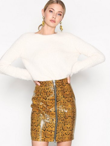 YAS - YASCOVER LEATHER SKIRT