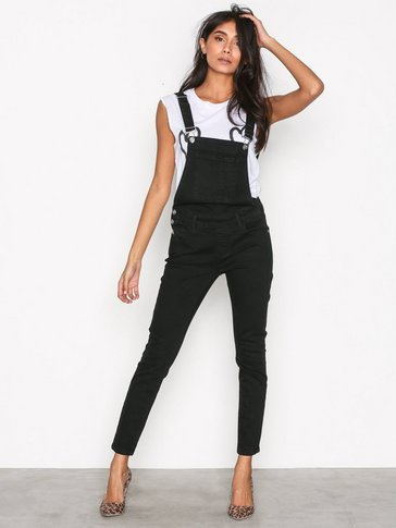 Only - onlKIM WITTY BLACK  DNM OVERALL BJ