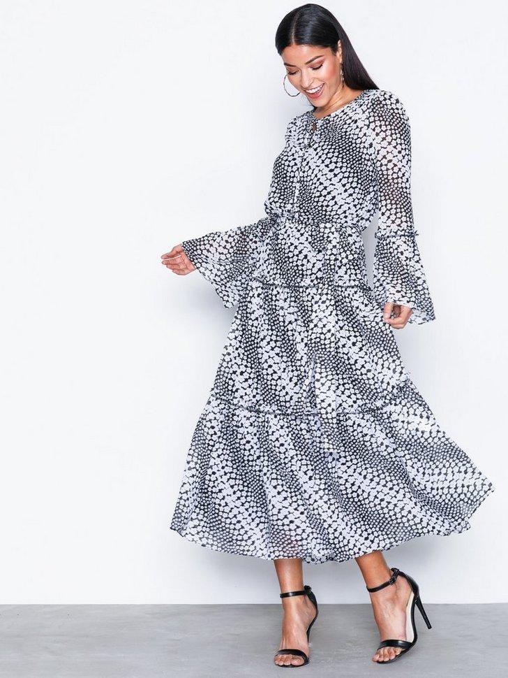 Gallakjole festkjole Tiered Boho Dress festtøj