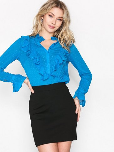 Selected Femme - SFKELLY MW SKIRT NOOS