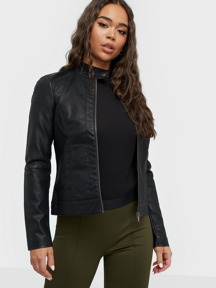 Nelly.com SE - JDYDALLAS FAUX LEATHER JACKET OTW N 299.00