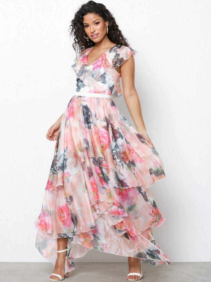 Gallakjole festkjole YASPALLIDA S S DRESS DAS festtøj