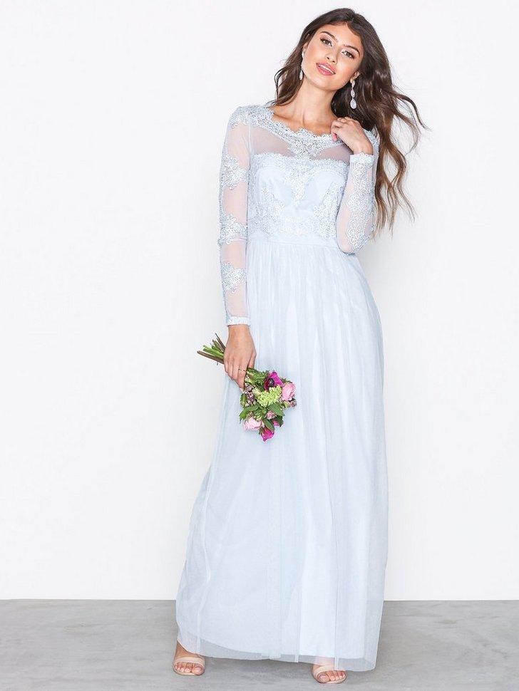 VIGEORGIOUS L S MAXI DRESS DC køb festkjole