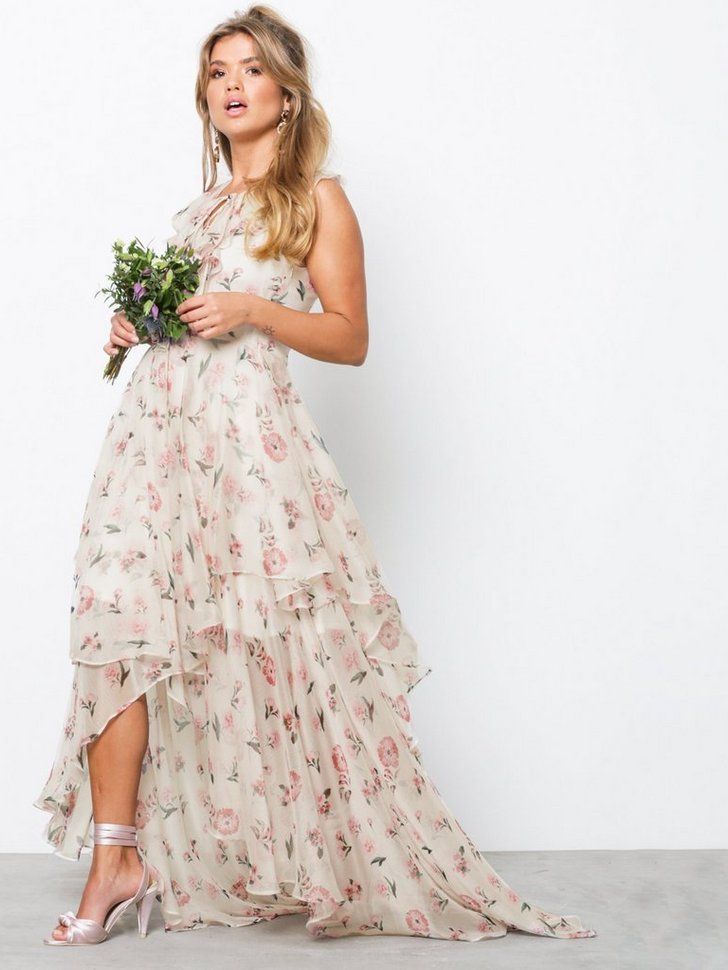 YASMOST S L MAXI DRESS køb festkjole