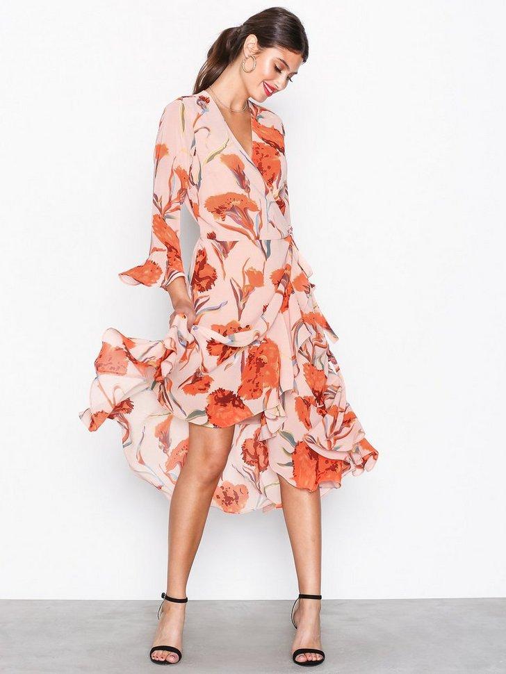 YASCACCO WRAP DRESS køb festkjole
