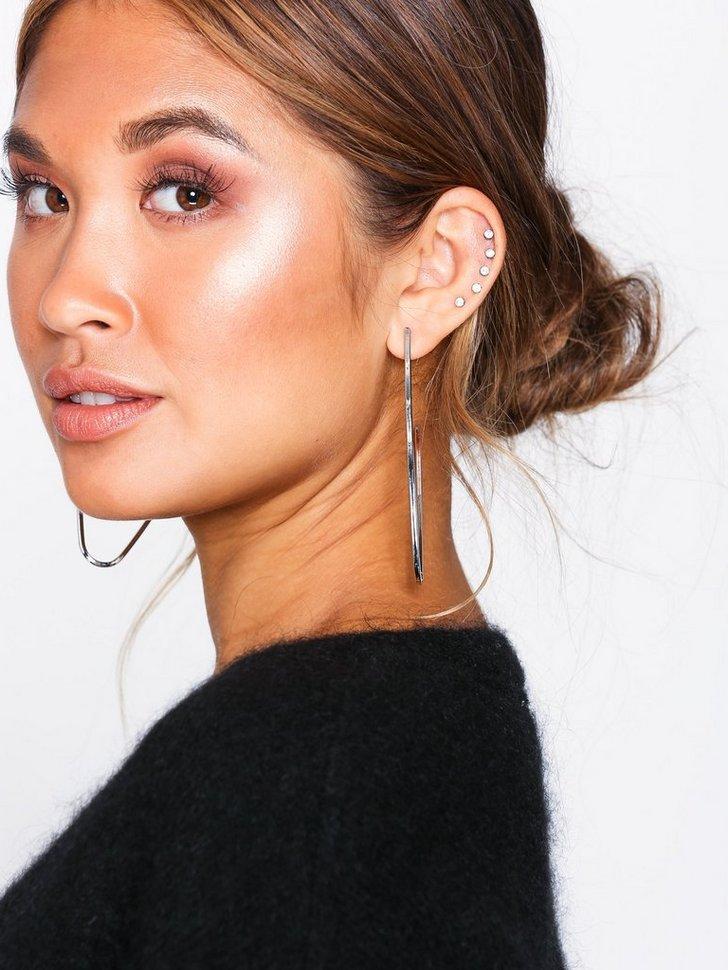 VMFRIDA LARGE CREOL EARRINGS køb smykker