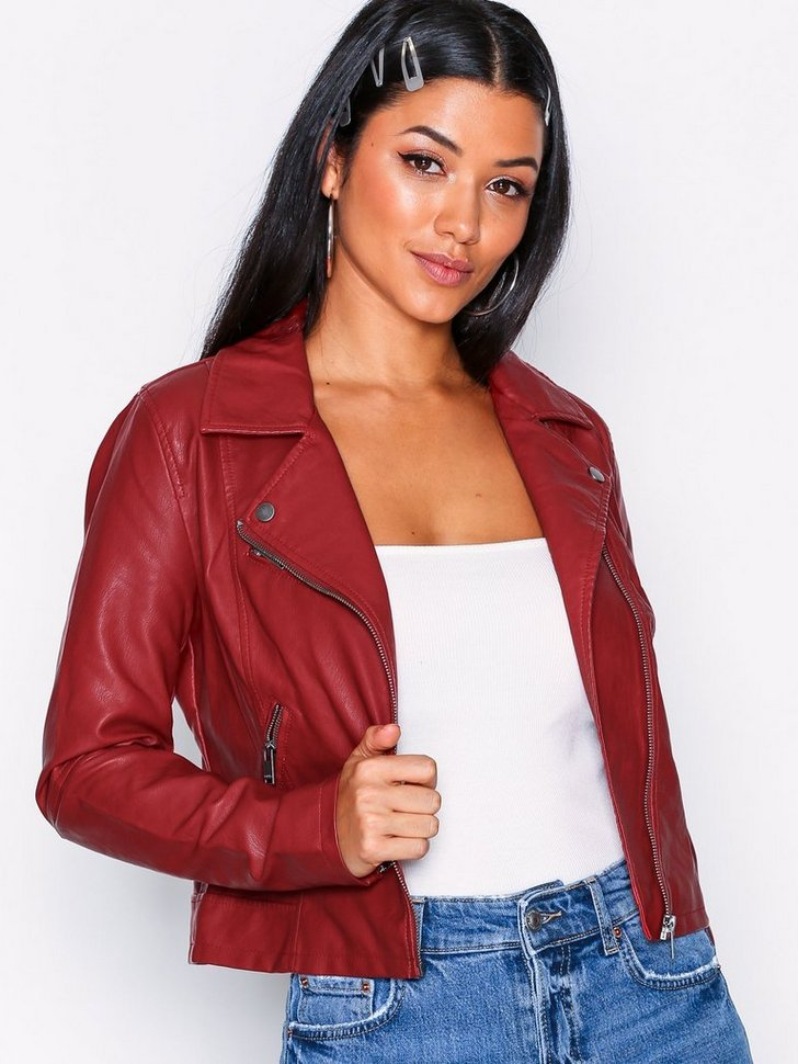 Nelly.com SE - onlVIGGA FAUX LEATHER BIKER CC OTW 469.00