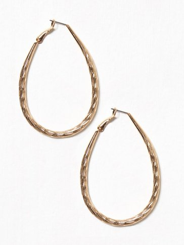 Pieces - PCJAMILLA HOOP EARRINGS