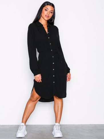 Object Collectors Item - OBJBAY L/S SHIRT DRESS NOOS