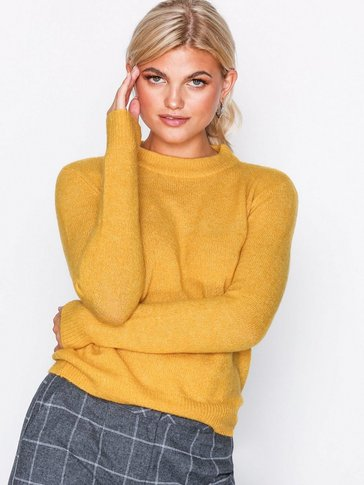 Pieces - PCJANE LS WOOL KNIT NOOS