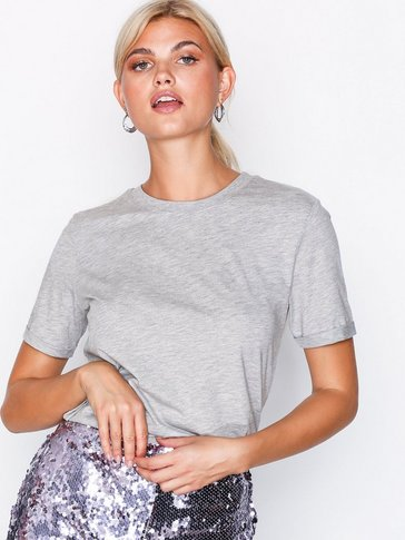 Pieces - PCRIA SS FOLD UP TEE NOOS
