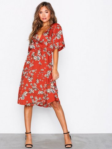 Jacqueline de Yong - JDYELLIOT S/S WRAP DRESS WVN