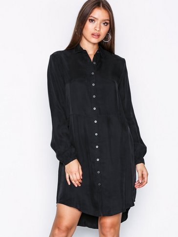 VILA - VIRAF L/S SHIRT DRESS-NOOS