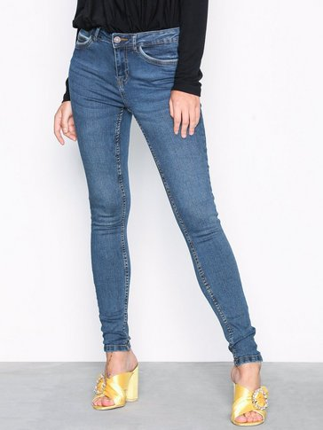 Noisy May - NMLUCY NW PCKT PIPING JEANS VI877DB