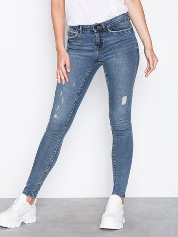 Noisy May - NMLUCY NW PIPING DEST JEANS VI881MB