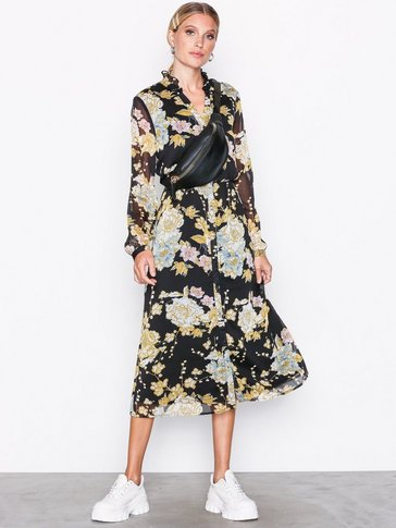Vero Moda - VMTONE CALF DRESS W FLOWERS  EXP