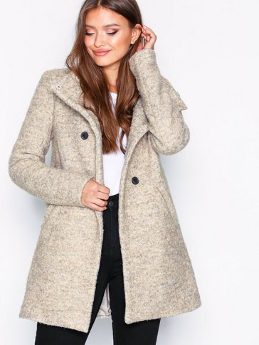 Only - onlSOPHIA BOUCLE WOOL COAT CC OTW