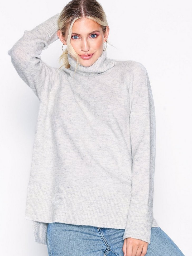 VMIVA LS ROLLNECK BLOUSE BOO