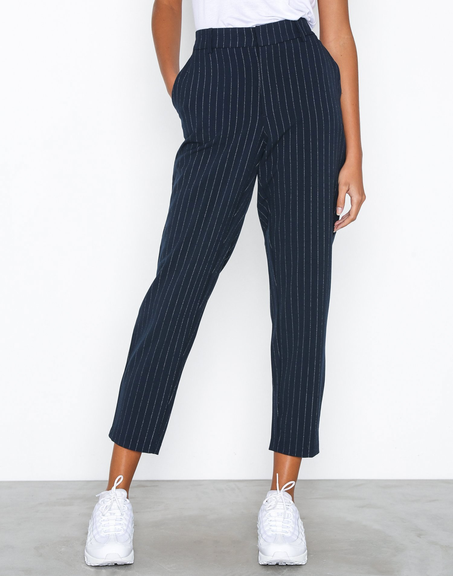 Objsiringo Pin Striped 7/8 Pant 100 by Object Collectors Item