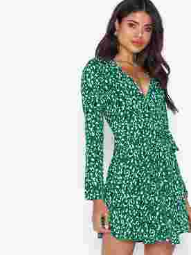 Toxic Wrap Dress