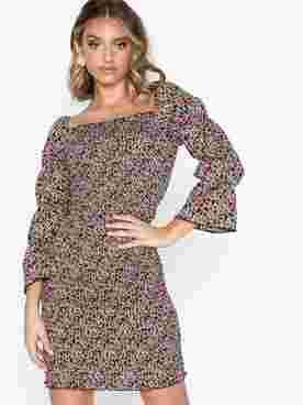 ONLDORA 4/5 SHORT SMOCK DRESS WVN
