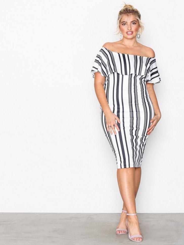 Nelly.com SE - Frill Print Dress 199.00 (398.00)