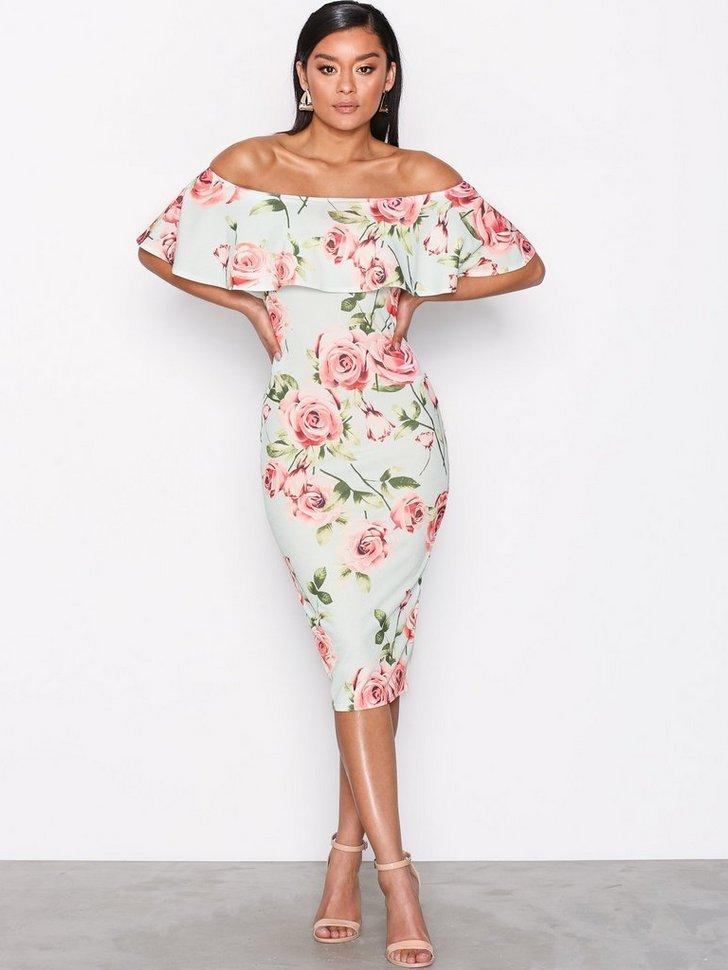 Nelly.com SE - Frill Print Dress 279.00 (398.00)