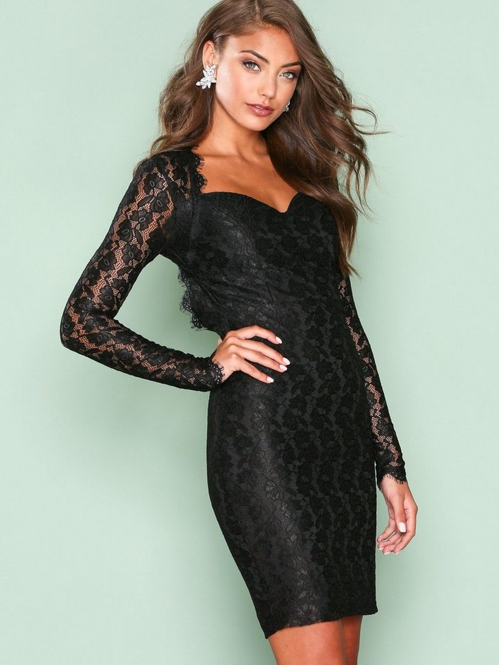 Nelly.com SE - Bombshell LS Lace Dress 119.00