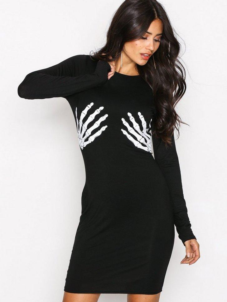 Nelly.com SE - Skeleton Hands Dress 218.00