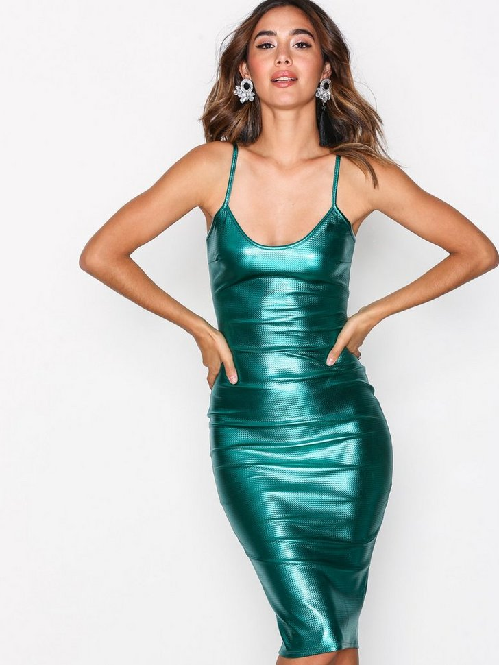 Nelly.com SE - Metallic Midi Dress 398.00
