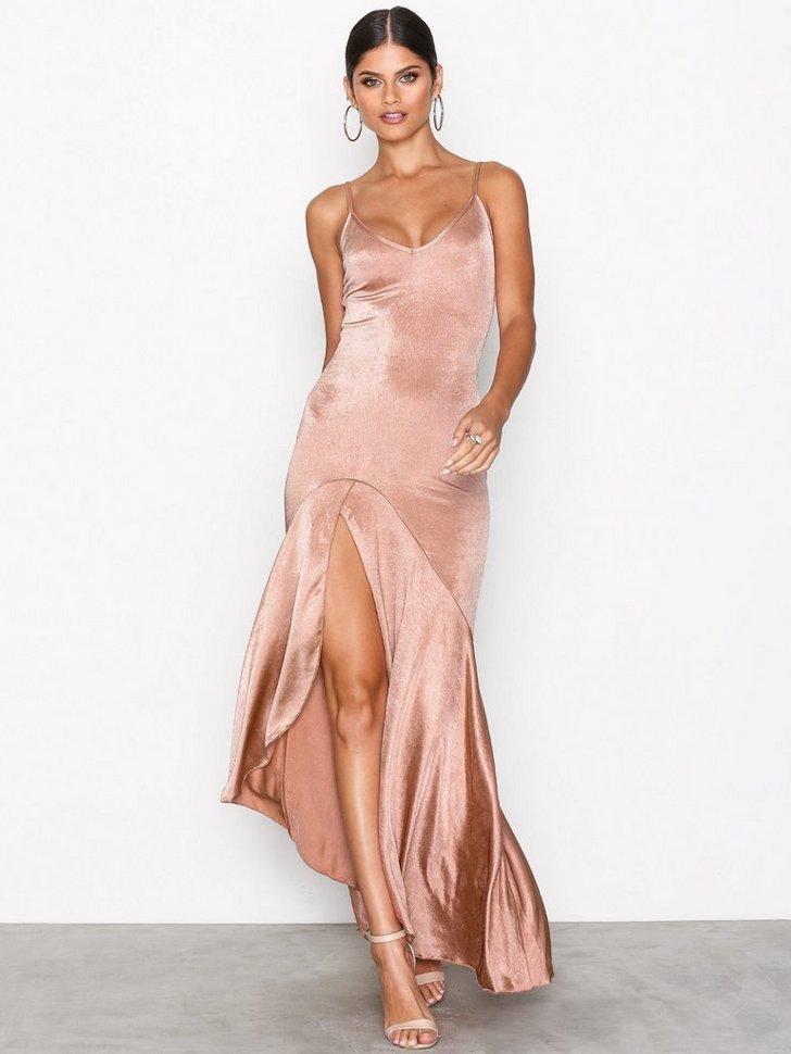 Split Frill Dress køb festkjole