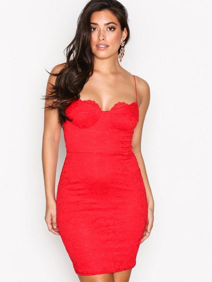 Lace Bodycon Dress køb festkjole