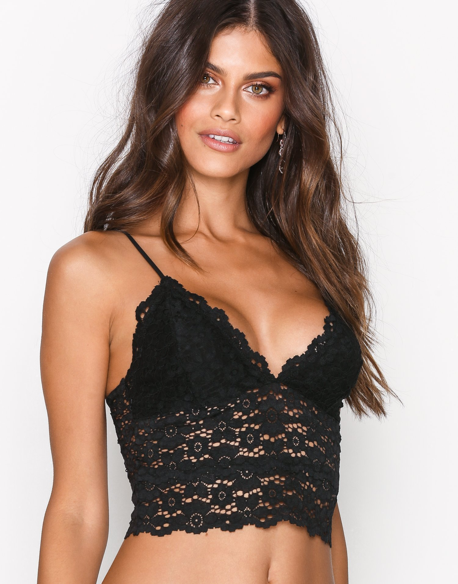 Longline Lace Bustier by Nly Lingerie