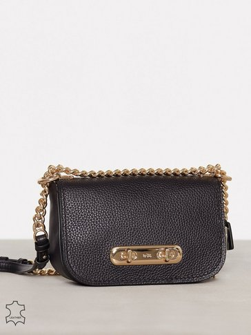 Coach - Pebbled Leather Refresh Coach Swagger 20 Shoulder Bag