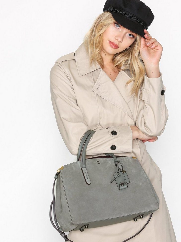 Suede Cooper Carryall