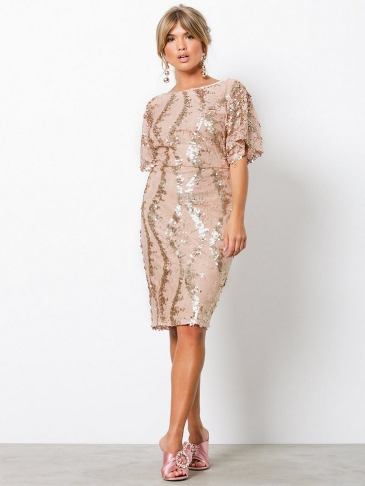 Exclusive Kimono Dress køb festkjole