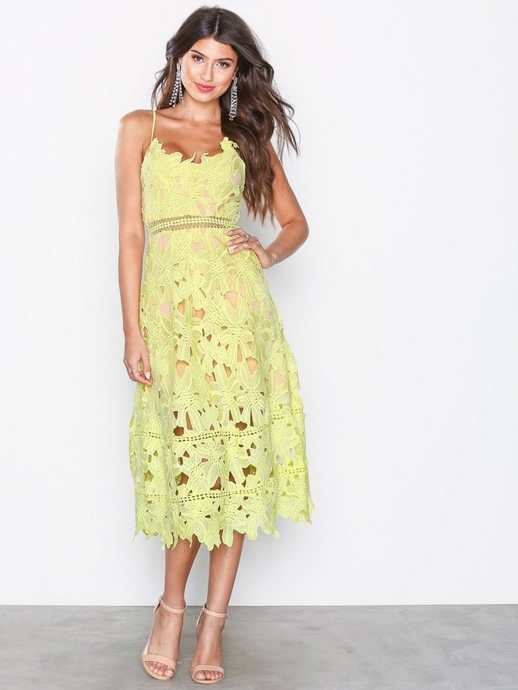 Sunshine On My Mind Midi Tea Dress køb festkjole