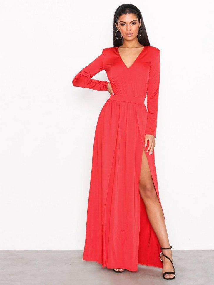 Plunge Glam Dress køb festkjole