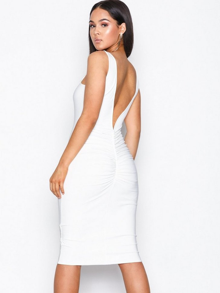 Nelly.com SE - Double Layer Ruched Dress 398.00
