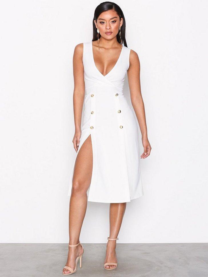 Nelly.com SE - Gold Button Split Dress 249.00 (498.00)