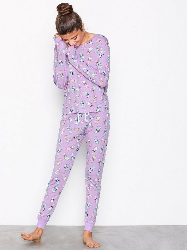 Nelly.com SE - Shower Cats Long Pyjamas 398.00